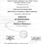 Corso avanzato di formazione per revisore contabile