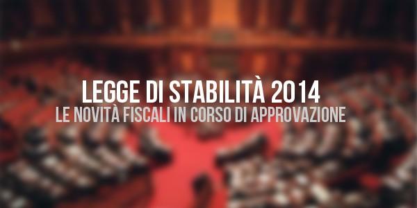 La Legge di Stabilità 2014