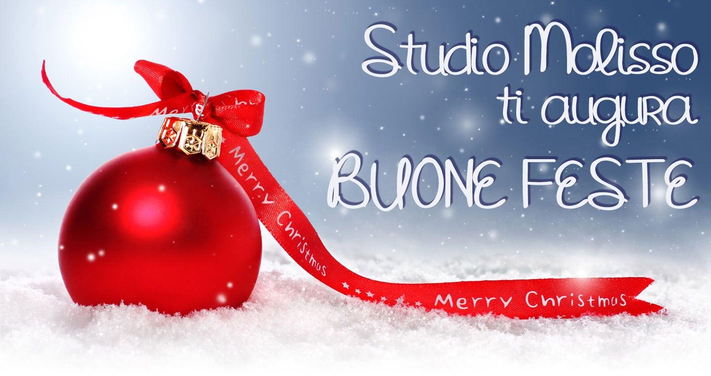 auguri di Natale studio molisso